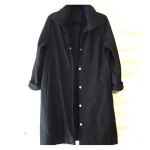 Babette vintage all black puffer jacket